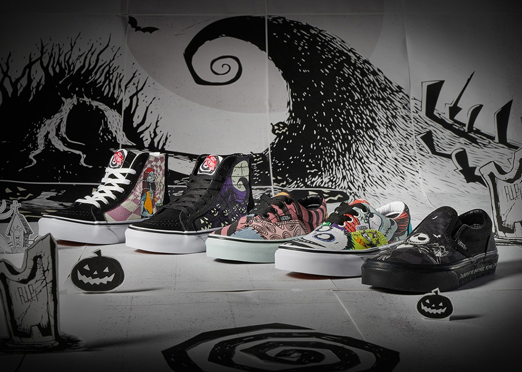 Vans x Disney: The Nightmare Before Christmas release