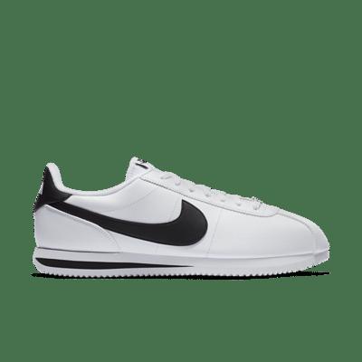 """Nike CORTEZ BASIC LEATHER """"WHITE"""" 819719-100"""