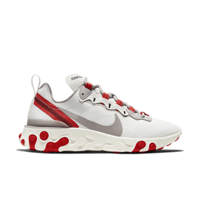 "Nike React Element 55 ""Track Red"" BQ2728-010"