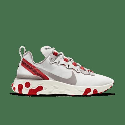 "Nike React Element 55 ""Track Red"" BQ2728-010"