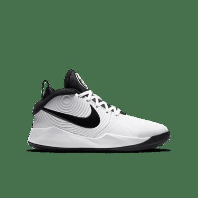 Nike Team Hustle D 9 Wit AQ4224-100
