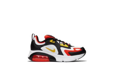 Nike Air Max 200 Black Bright Crimson (GS) AT5627-005