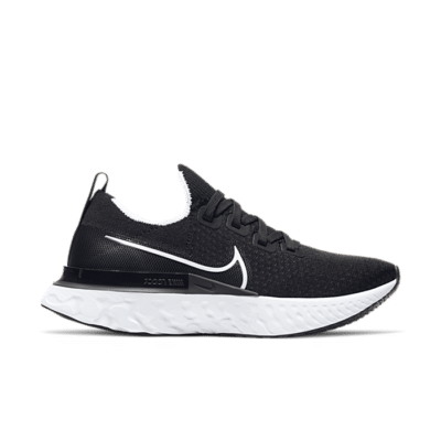 Nike React Infinity Run Black White (W) CD4372-002