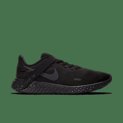Nike Revolution 5 FlyEase Zwart BQ3211-001