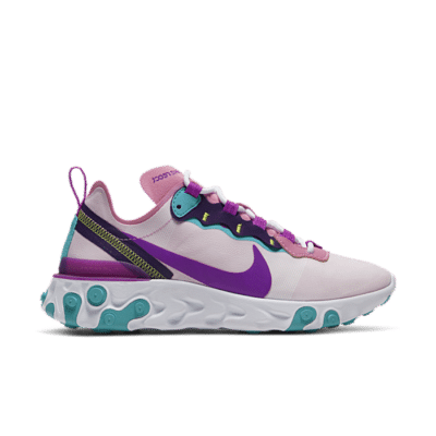 "Nike React Element 55 ""Magic Flamingo"" BQ2728-603"