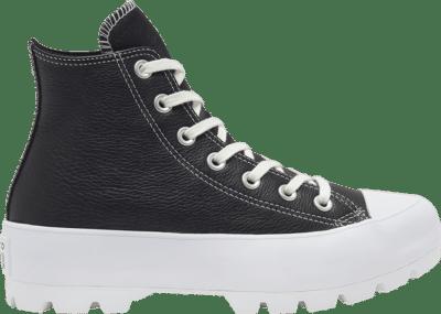 Converse Wmns Chuck Taylor All Star Lugged High 'Black White' Black 567164C
