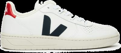 "Veja V-10 Leather ""Extra White Nautico Pekin"" VXM021267"