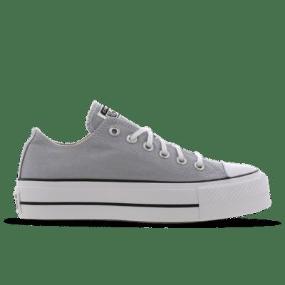 Converse Chuck Taylor All Star Platform Low Grey 566757C
