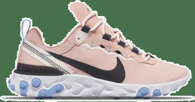 "Nike Wmns React Element 55 ""Soft Pink"" BQ2728-602"
