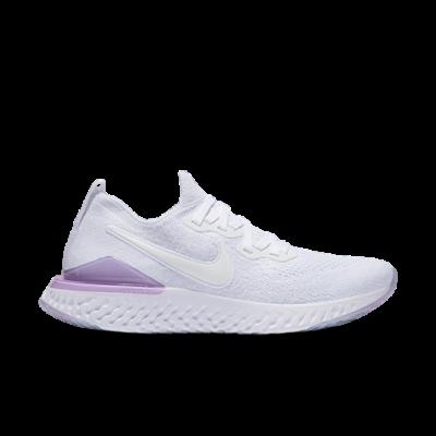 Nike Epic React Flyknit 2 White Pink Foam (W) BQ8927-101
