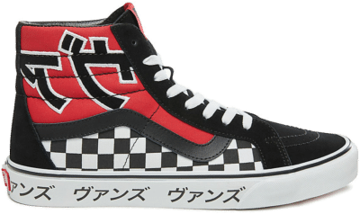 Vans Sk8-Hi Japanese Type Black Red VN0A2XSBSJY
