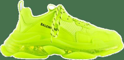 Balenciaga Triple S Clearsole Fluo Yellow 541624 W2FF1 7320
