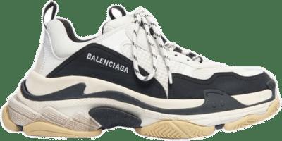 Balenciaga Triple S White Black 536737 W09OM 9058