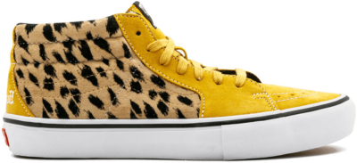 Vans Sk8-Mid Supreme Velvet Leopard Gold VN0A347UOPI