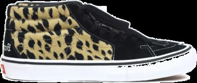 Vans Sk8-Mid Supreme Velvet Leopard Black VN0A347UOPM