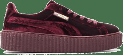 Puma Creeper Velvet Red 364466 02