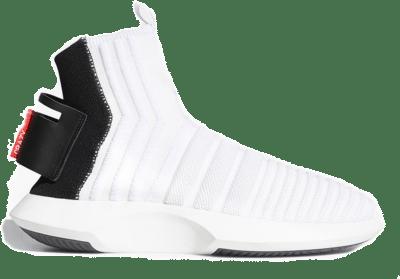adidas Crazy 1 Adv Sock White Black Red CQ0985
