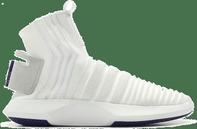 adidas Crazy 1 Adv Sock Footwear White Real Purple CQ1012