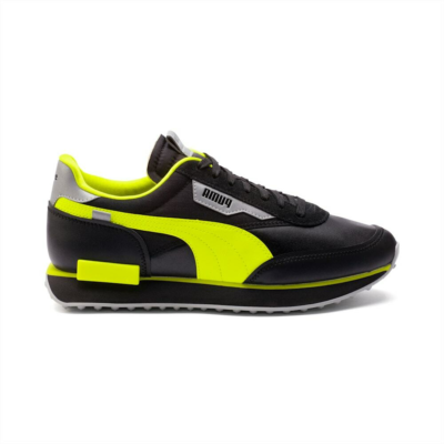 "Puma Future Rider Risk Alert ""Black"" 373172-02"