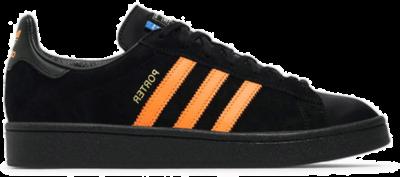 adidas Campus Porter Black Orange B28143