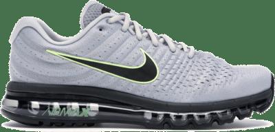 Nike Air Max 2017 Wolf Grey Black Volt 849559-012
