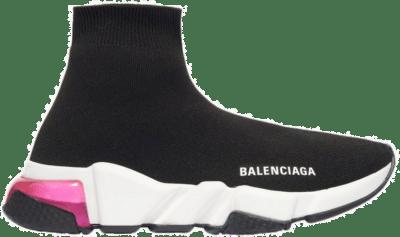Balenciaga Speed Trainer Clearsole Pink (W) 607543 W05GG 1014