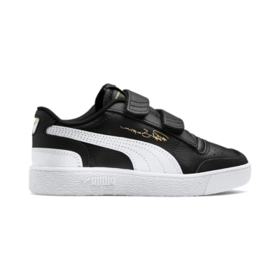 Puma Ralph Sampson Lo V Kids' s Zwart / Wit 370921_01