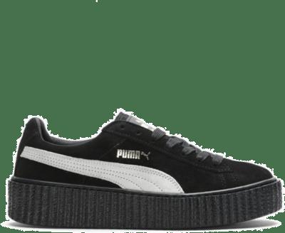 Puma Creepers Rihanna Fenty Black White (W) 361005-01