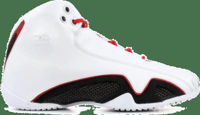 Jordan 21 White Varsity Red Metallic Silver (2006) 313038-161
