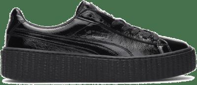 Puma Creeper Rihanna Fenty Cracked Leather Black (W) 364465-01