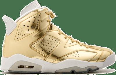 Jordan 6 Retro Pinnacle Metallic Gold 854271-730