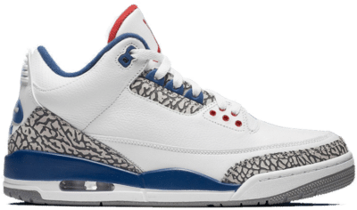 Jordan 3 Retro True Blue (2011) 136064-104