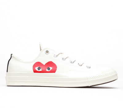 Converse Chuck Taylor All-Star 70s Ox Comme des Garcons PLAY White 150207C