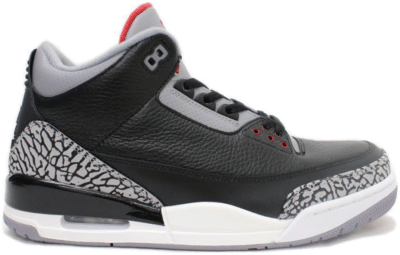 Jordan 3 Retro Black Cement (2011) 136064-010