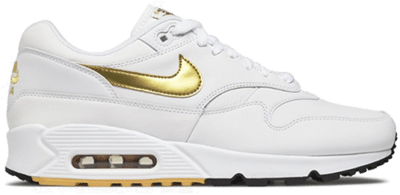 Nike Air Max 90/1 White Gold AJ7695-102