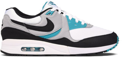 "Nike Air Max Light ""White/Black Wolf Grey Spirit Teal"" AO8285-103"