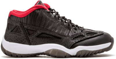 Jordan 11 Retro Low IE Black Varsity Red (2011) 306008-001