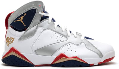 Jordan 7 Retro For the Love of the Game White/Red-Gold 304775-103
