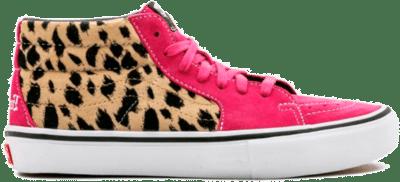 Vans Sk8-Mid Supreme Velvet Leopard Magenta VN0A347UOPL