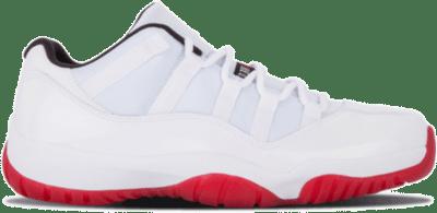 Jordan 11 Retro Low White Red (2012) 528895-101