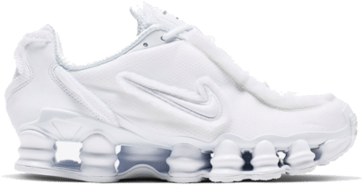 Nike Shox TL Comme des Garcons White (W) CJ0546 100