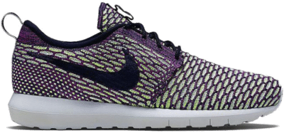 Nike Roshe One NM Flyknit Dark Obsidian Fuchsia Flash 677243-400