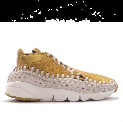 Nike Air Footscape Woven Chukka Flat Gold 913929-700