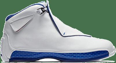 Jordan 18 Retro White Sport Royal AA2494-106