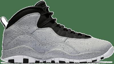 Jordan 10 Retro Light Smoke Grey (GS) 310806-062