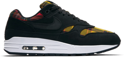 Nike Air Max 1 Tartan Black (W) AV8219-001