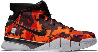 Nike Kobe 1 Protro Undefeated Orange Camo (Phoenix) BV1207-902