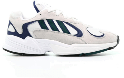 adidas Yung-1 White Noble Green Dark Blue G27031