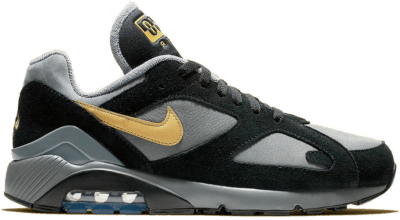 Nike Air Max 180 Cool Grey Black Wheat Gold AV7023-001