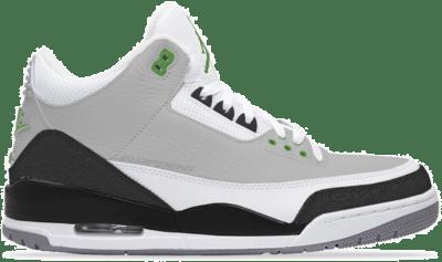 Jordan 3 Retro Chlorophyll (GS) 398614-006